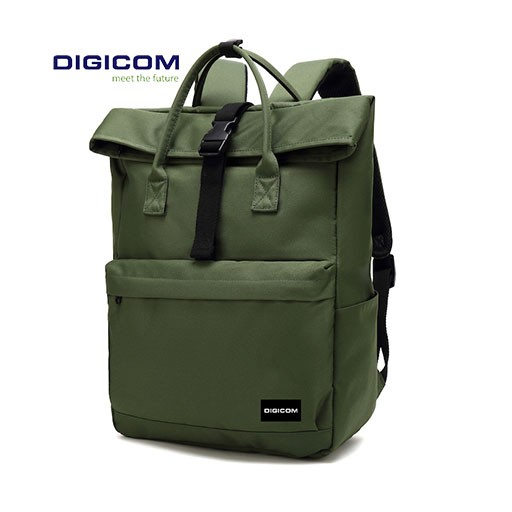 Digicom B-45 Stylish Roll The Top Bagpack