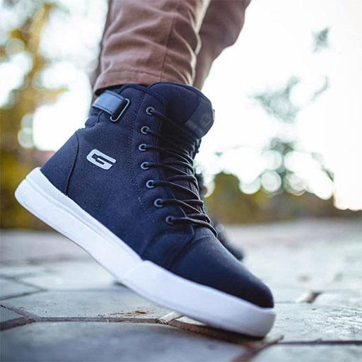 GOLDSTAR G10-G904 Navy Blue Sneaker for Men