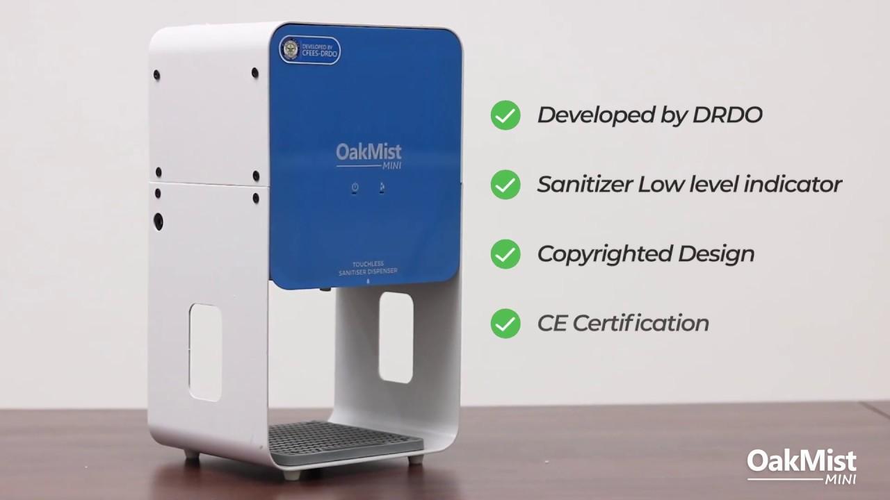 OakMist Mini (Oakter Automatic Hand Sanitizer Dispenser)