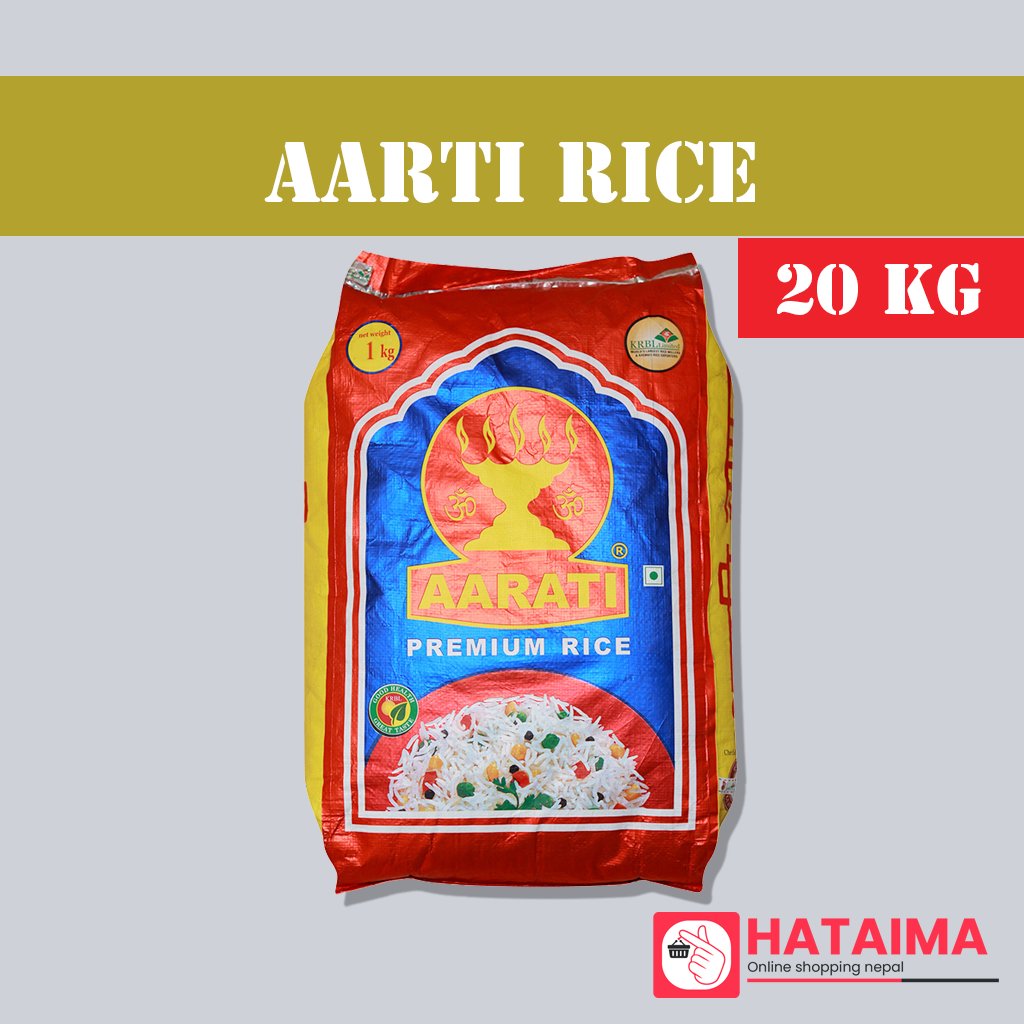 Aarti Chamal (Rice) 20 kg